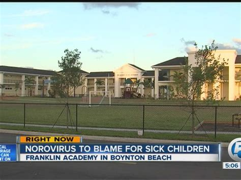Franklin Academy Palm Gardens by Franklin Academy Charter School Outbreak Update Health
