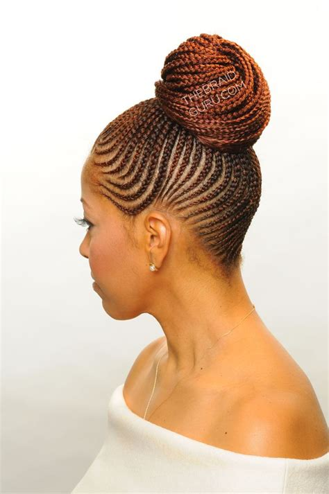 itching african bun hairstyles 410 best creativity of cornrows images on pinterest