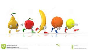 running fruit royalty free stock photography image 17935817