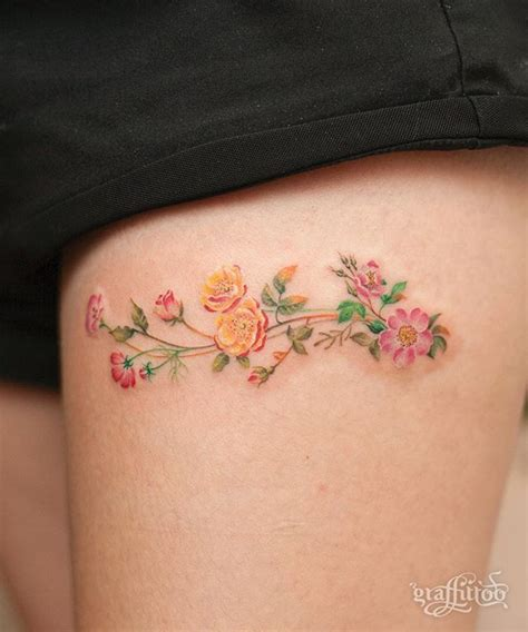 wild rose tattoo flower www pixshark images