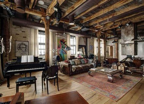 wohnzimmer urig midlife crisis loft by lev lugovskoy