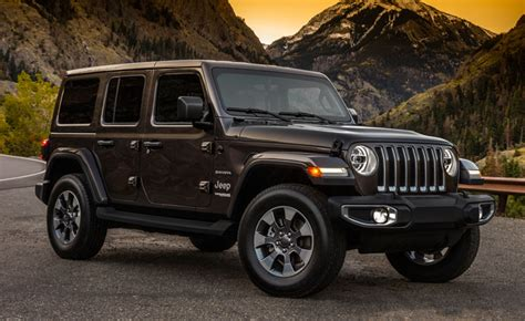 jeep wrangler model years jeep to introduce in hybrid wrangler for 2020 model