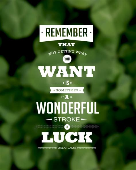 quotes about luck quotesgram