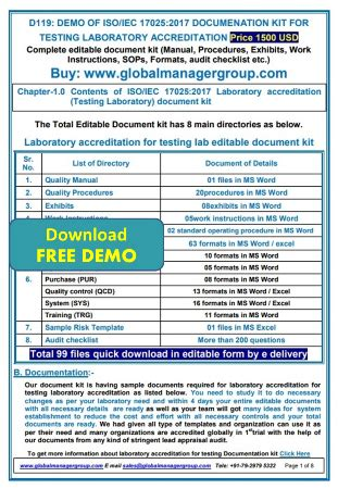 iso 17025 quality manual template free pdf iso 17025 quality manual template free pdf images