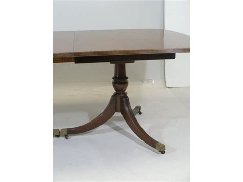 federal style dining table att to baker 2260594
