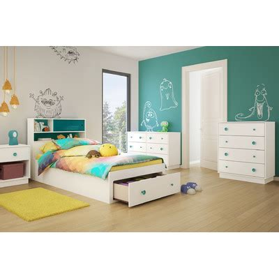 south shore bedroom furniture south shore little monsters twin platform customizable