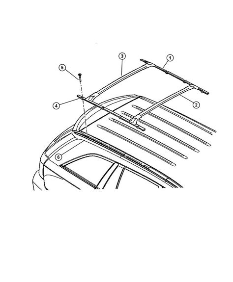Pacifica Roof Rack by Chrysler Pacifica Roof Rack