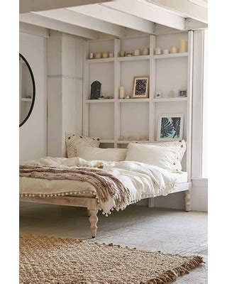 bohemian platform bed new savings on quot bohemian platform bed white queen quot