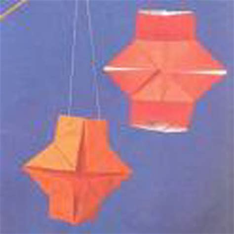 Origami Lantern Box - origami lantern folding how to fold an