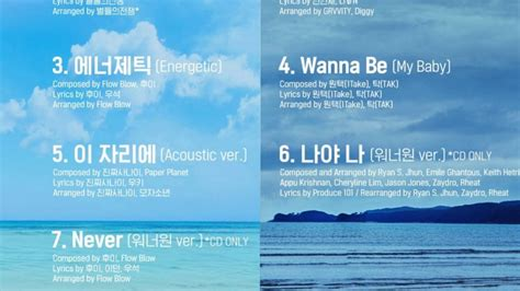 download mp3 album wanna one wanna one wanna be debut tracklist album 1 215 1 1 to be
