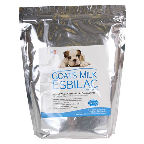 goat milk for puppies petag goats milk esbilac powder for puppies 5 lbs