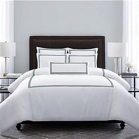 forest bed set buy wamsutta 174 hotel triple baratta stitch full queen comforter set in forest from bed