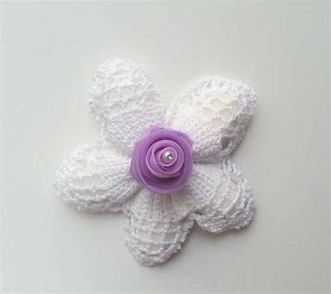 fiori uncinetto per bomboniere 8 sacchetti portaconfetti originali basta le solite