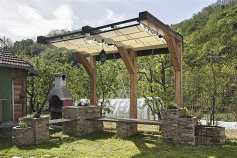 progetto gazebo progetto giardino federico vota design