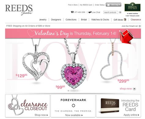 jewelers valentines day reeds jewelers s day coupon code