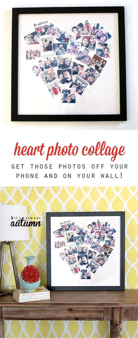 Handmade Photo Collage For Birthday - best 25 creative birthday gifts ideas on