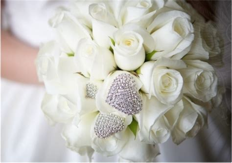 White Wedding Bouquet Flowers by Bright And Beautiful 18 Stunning Bridal Bouquets