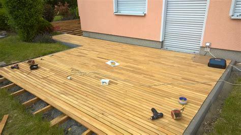 terrasse robinie verwinkelte terrasse 50mm robinie