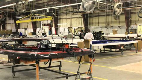 how skeeter bass boats are made plant tour youtube - Tracker Boats Manufacturing Plant