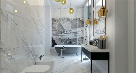 Classic White Bathroom Design And Ideas Bathroom Decor Ideas Which Show A Classic And Modern Interior Looks So Roohome