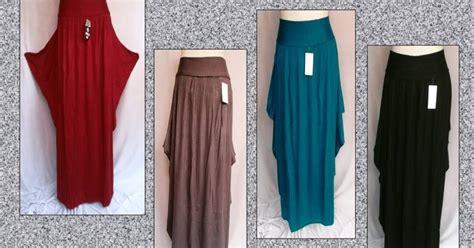 Grosir Murah Baju Jumbo Dicta Dress Jersey rok pari cantik grosir baju murah tanah abang