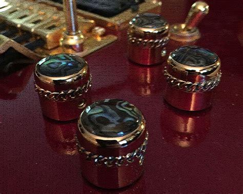 Abalone Guitar Knobs by Paladin Crusader Guitar Abalone Knobs Paladin Knobs Knobs Crusaders And Guitar