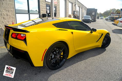 vintage corvette stingray gotshadeonline custom vehicle wraps window tinting