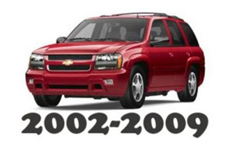 auto repair manual online 2004 chevrolet trailblazer spare parts catalogs 2002 2009 chevrolet trailblazer service repair workshop manual download 2002 2003 2004 2005 2006