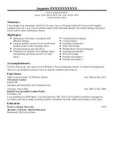 Esol Tutor Sle Resume by Esol Resume Exle George Lorton Virginia