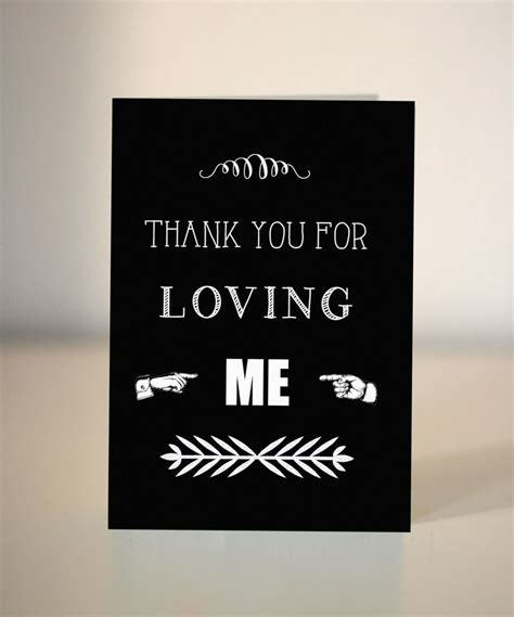 free printable thank you cards for husband anniversary card thank you for loving me card for