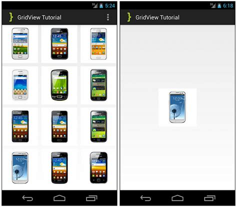 tutorial android gridview android simple gridview tutorial androidbegin