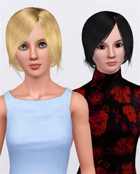 1800s hairstyles for sims 3 the sims 3 ponytail with bangs hairstyle raon female hair