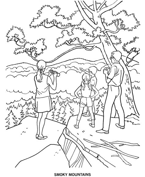 Smokey The Coloring Pages arbor day coloring pages az coloring pages