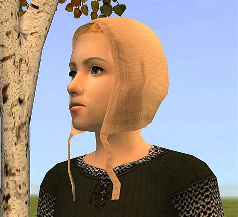 Nonni Tunic mod the sims hair all ages coif