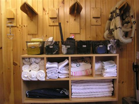 tack room ideas 10 tips for a tidy trendy tack room luckypony
