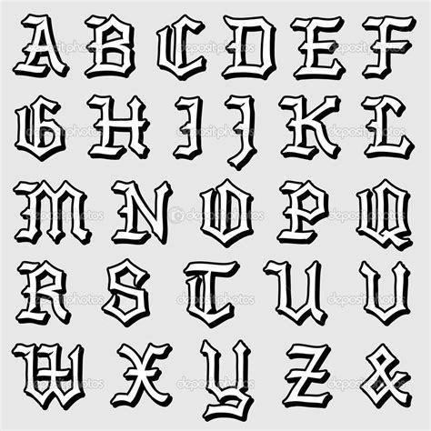 lettere in gotico doodle vector de um alfabeto g 243 tico completo ilustra 231 227 o