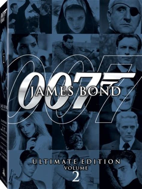 james bond volume 2 die another day 2002 dvd hd dvd fullscreen widescreen blu ray and special edition box set