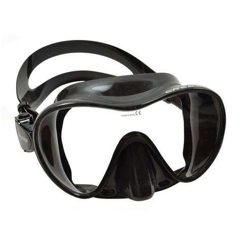 Masker Cressi cressi f1 black spearfishing mask masks