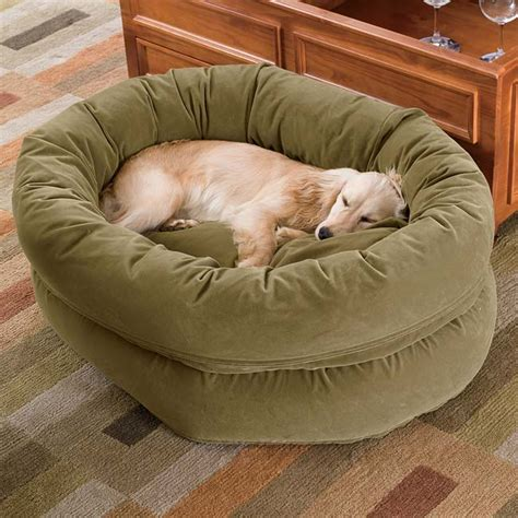 bagel dog bed unique dog beds double high bagel dog bed orvis uk