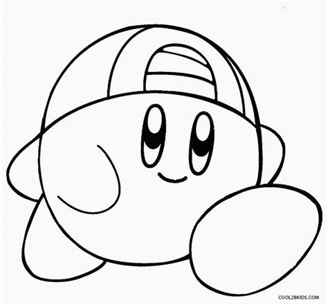 nintendo kirby coloring pages to print kirby return to dreamland coloring pages