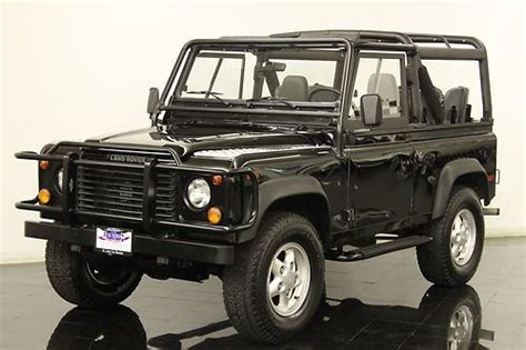 automobile air conditioning service 1995 land rover defender 90 user handbook purchase used 1995 land rover defender 90 3 9l v8 5 speed california car recently serviced ac in