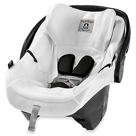 peg perego car seat cover winter peg perego 4 35 clima cover in white buybuy baby