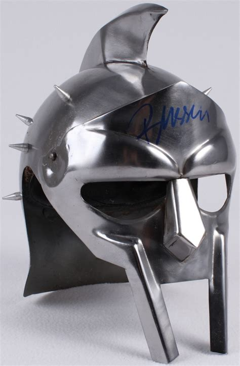 gladiator film helmet online sports memorabilia auction pristine auction