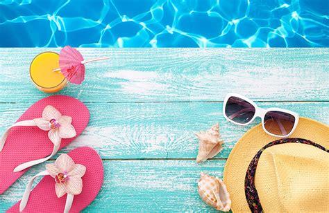 imagenes para fondo de pantalla verano fondos de pantalla verano bebida concha sombrero de gafas