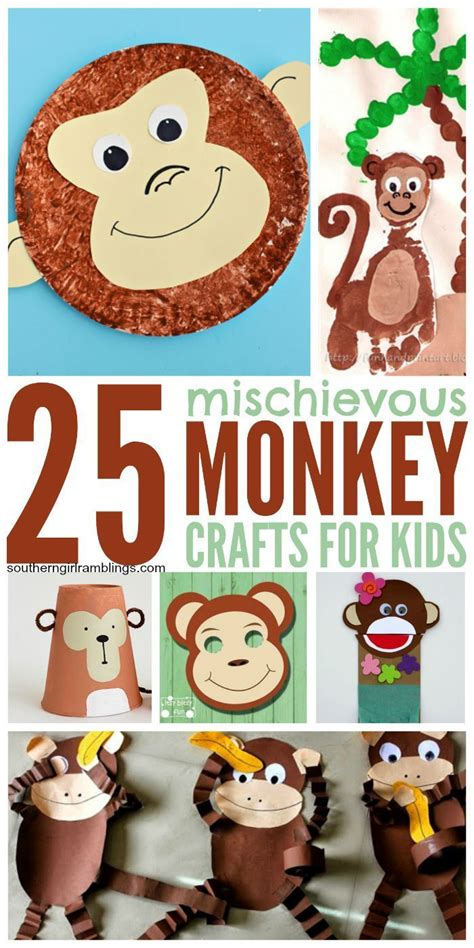 new year craft ideas monkey 1000 images about animal crafts on fox