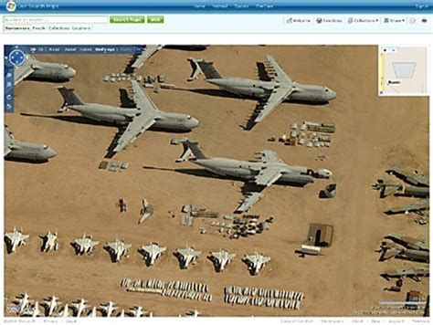 worlds largest aircraft graveyard tucson arizona usa