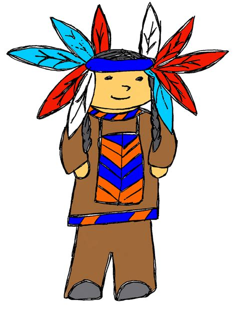indian clipart indian chief clip image 266