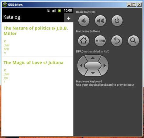pengertian layout android aplikasi sederhana katalog digital dengan android