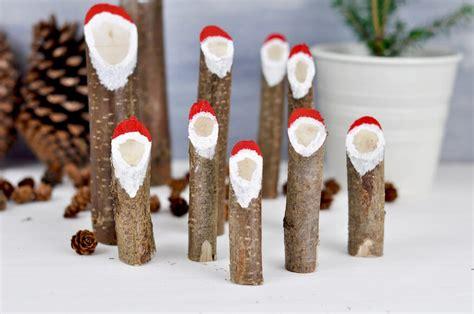 Nikolaus Basteln Holz by Weihnachtsm 228 Nner Bastelanleitung Fr 228 Ulein Selbstgemacht