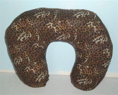Leopard Print Travel Pillow leopard print pillow neck pillow travel by carriescraftstore
